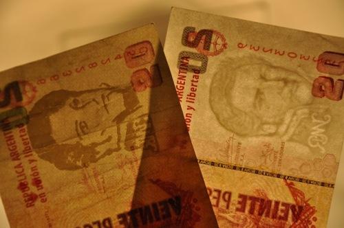 Fake Argentinean Pesos